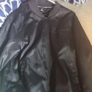 Mens jordan lgg leather jacket light weight